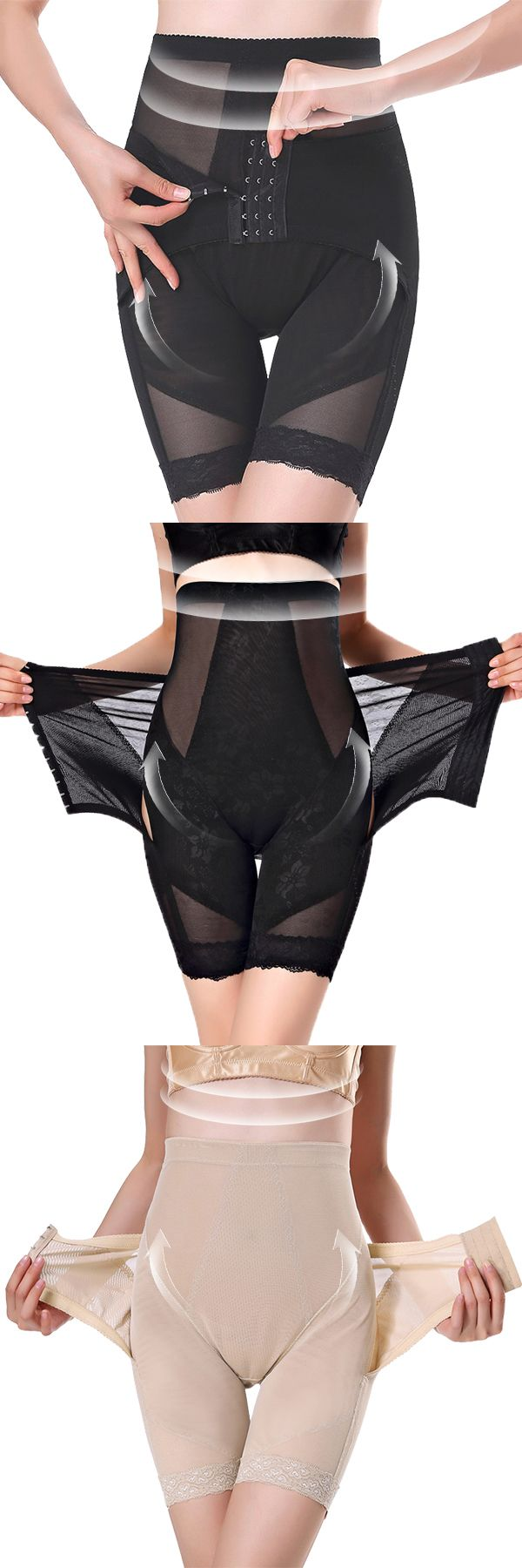 High Waisted Perfect Shaping Front Closure Shapewear #fashion #style #UnderwearModel
