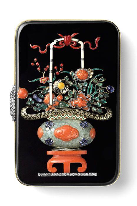 """Несессер """"Китайская ваза"""" Cartier. Париж, 1927"""