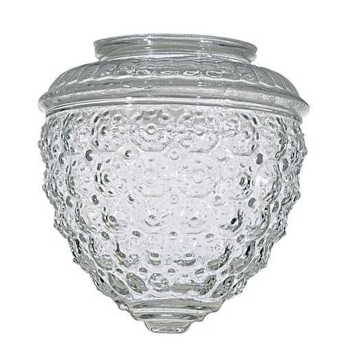 107 best glass lamp shades images on pinterest glass shades lamp clear pineapple glass shade 3 14 inch fitter opening mozeypictures Choice Image