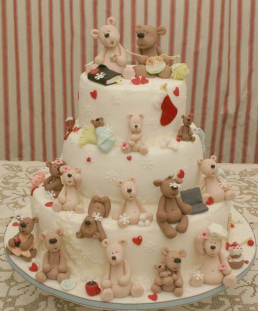 Mom and Dad's 45th Anniversary Cake by ♥Dot Klerck....♥, via Flickr
