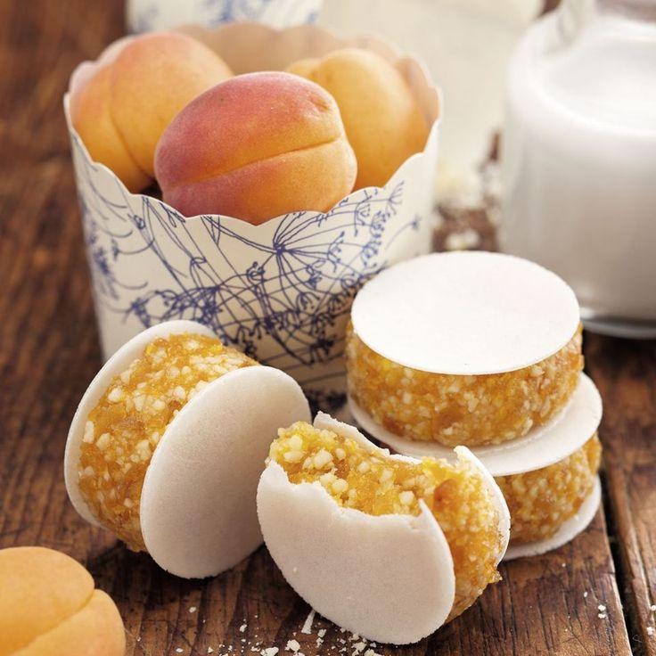 Aprikosen-Frühstücksoblaten