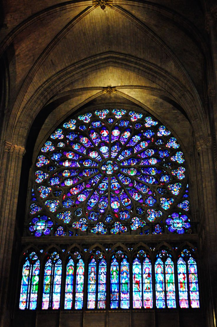 421 best stained glass windows sacred images on for Rose window design