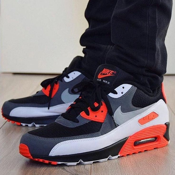 """Nike Air Max 90 OG """"Reverse Infrared"""" by @jeffresh23"""