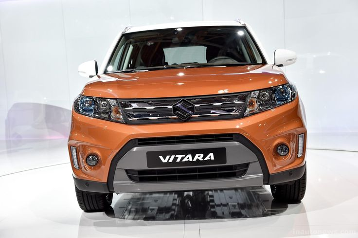suzuki vitara 2015 orange front #2015SuzukiVitara #Car #Autos #Review #Suzuki #car2015 #Vitara #Orange
