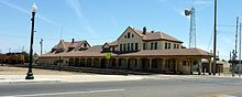 The old Southern Pacific Railroad Station Bakersfield, California - Wikipedia, the free encyclopedia