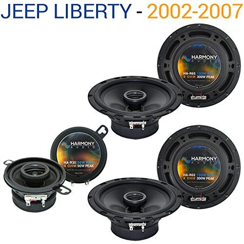 Jeep Liberty 2002-2007 OEM Speaker Replacement Harmony (2) R65 R35 Package. Jeep Liberty 2002-2007 OEM Speaker Replacement Harmony (2) R65 R35 Package.