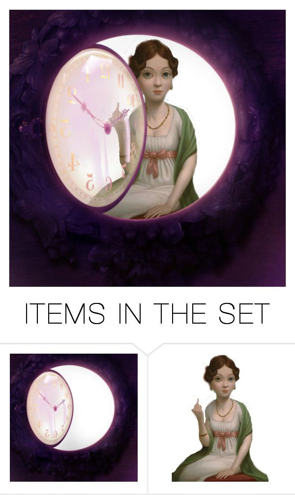 """""""A message for Father Time"""" by rasc2016 ❤ liked on Polyvore featuring art and polyvoreart"""