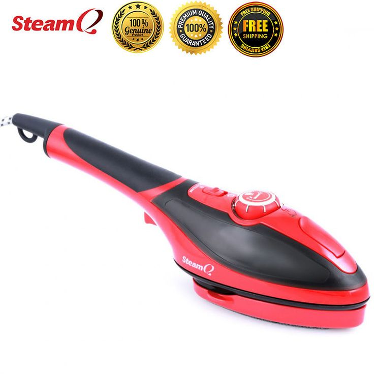 Steam Q2 Handheld Electric Portable Steamer Iron Laundry Clothes Garment Brush #Goodway  Manufacturer refurbished!  2 in 1 iron Capabilities Ironing can be so much fun with the Steam Q2 Iron Quick crease removal at the touch of your hand Powerful steamer Experience the convenience of the Goodway Steam Q2 handheld garment steamer. Just press the trigger and quickly remove creases with continuous steam. Ironing has never been easier.