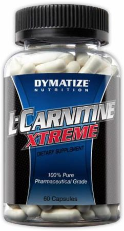 Dymatize L-Carnitine Xtreme - caffeine-free preworkout, which contains performance-boosting ingredients like carnitine without the buzz; supports muscle growth and development.