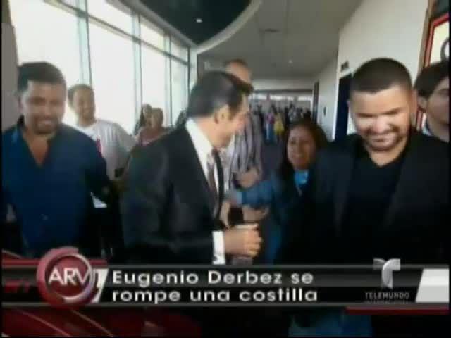 Eugenio Derbez Se Rompe Una Costilla En Grabación De Una Película #Video