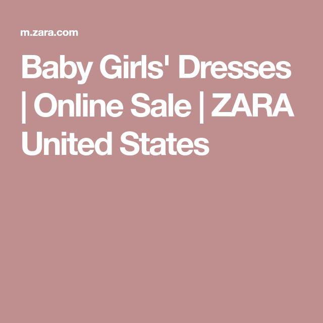 Baby Girls' Dresses | Online Sale | ZARA United States