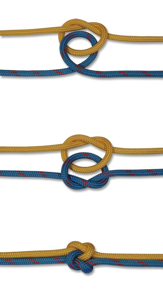 How to tie a True Lovers Knot: