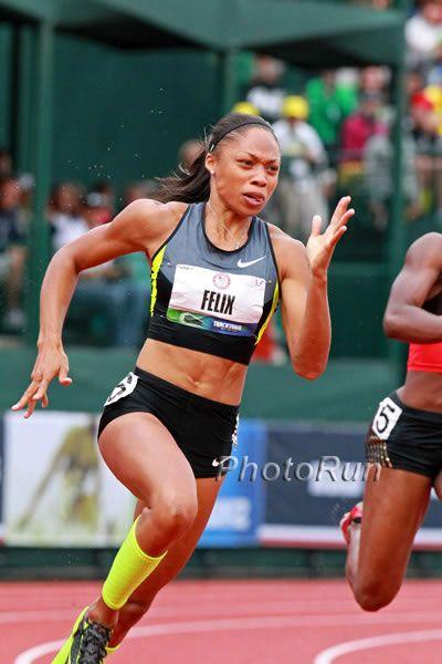 Allyson Felix - USA Track sprinter