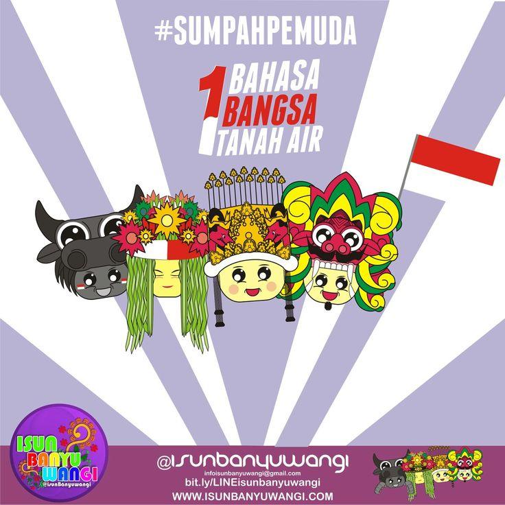 Instagram poster design for isunbanyuwangi event