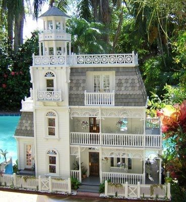 Miniature House By Robin CareyMiniatures, Dollshouse, Keys West, Dollhouse, Islands House, Key West, Robin Carey, Dolls House, West Islands