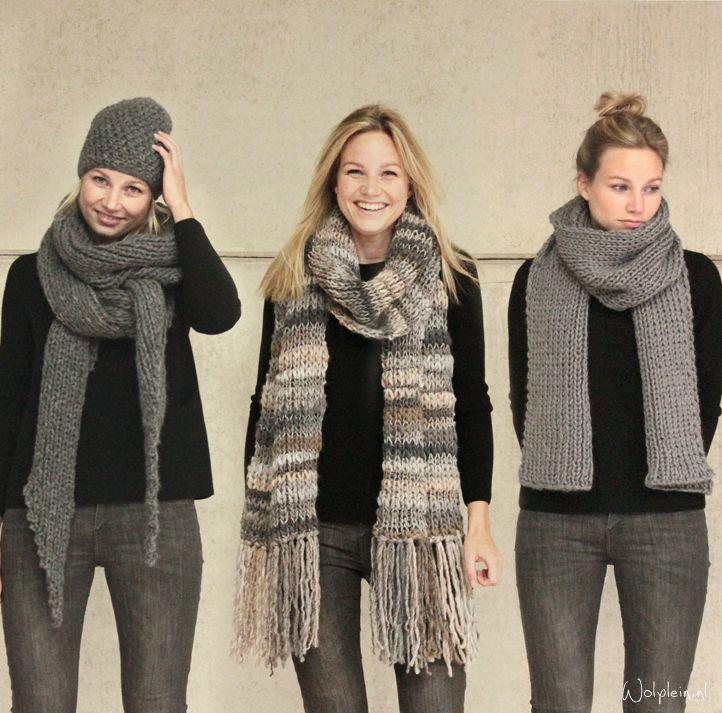 Sjaal breien? - gratis patroon - wolplein.nl