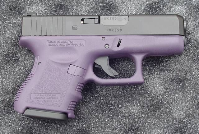womens guns purple | have a relative that wants a Glock in purple. Has anyone done ...