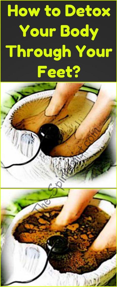 How to detox yo body thru yo feet.
