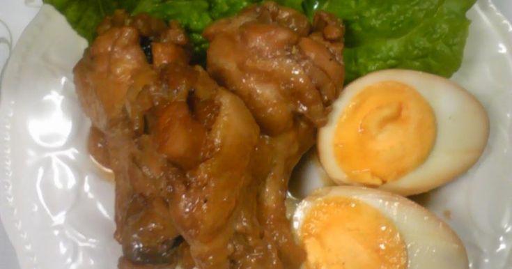 お酢でトロン~簡単分量☆手羽元&ゆで卵煮 by kyonmi [クックパッド] 簡単おいしいみんなのレシピが243万品