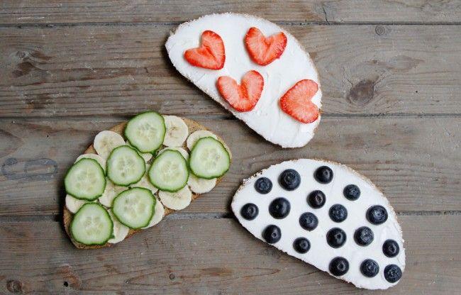 Fruit sandwich. www.babybite.dk