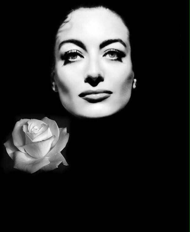 Joan Crawford (03-23-1904 - 05-10-1977) born Lucille Fay LeSueur in San Antonio, TX was an American film and television actress who started as a dancer and stage chorine. Cause of death, heart attack.