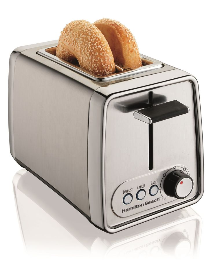 Features:  -Perfect for bagels.  -3 Toasting functions.  -Extra wide slots.  -Automatic shut-off.  -Toast boost.  -Easy clean crumb tray.  Product Type: -Toasters.  Finish: -Silver.  Primary Material: