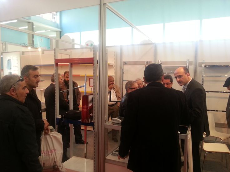 07 December-10 December 2013 Algeria 2nd.Turkish Products Exhibition Our stand!