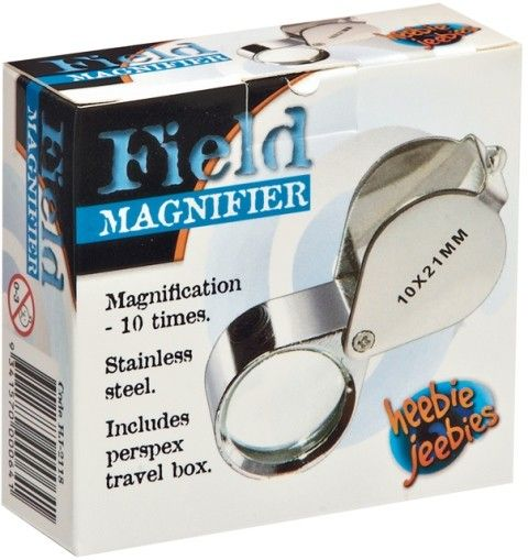 Heebie Jeebies - Folding Field Magnifier with Case Busy boys and girls love exploring the garden and finding bugs and creepy crawlies. My kids would love this magnifier for their adventures #PinToWin #EntropyWishList