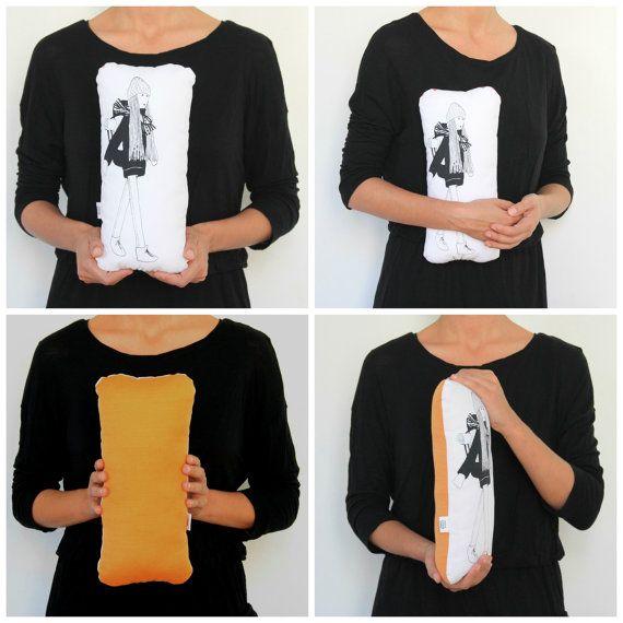 NEW! Handmade Backpacker doll pillow by #FulanaBeltranaSicrana