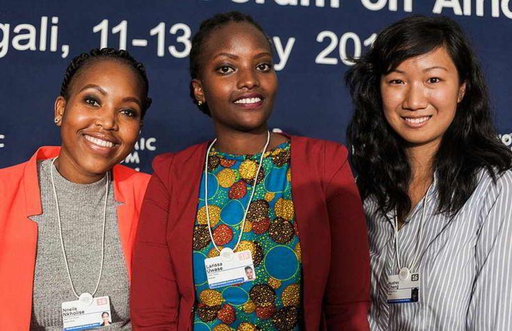 Rencontrez les 5 gagnantes du défis Meilleures Femmes Novatrices Africaines du Forum Economique Mondial 2016<br \><small>Photo: WEF</small>