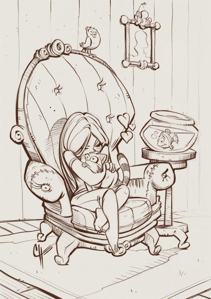 Simon Loche: Inktober Sketch #7