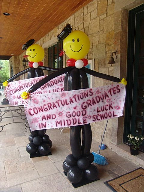 Graduation Centerpieces Ideas | We have the best graduation balloon decorations for your graduation ...