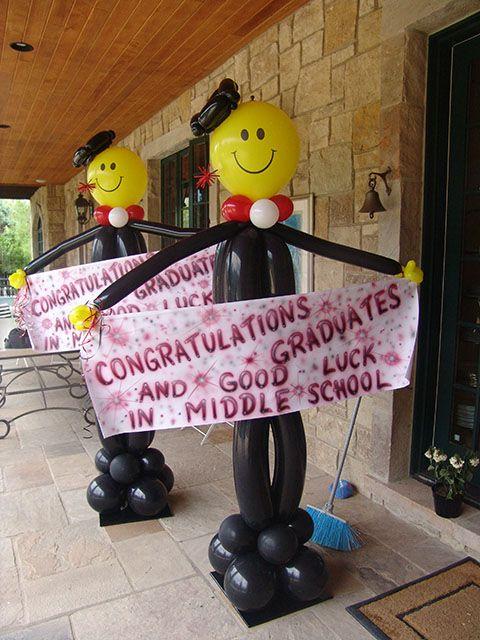 Graduation Centerpieces Ideas | We have the best graduation balloon decorations for your graduation ...