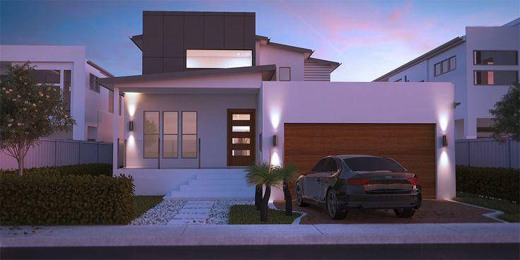 Esplannade - Two Storey House Floorplan by http://www.buildingbuddy.com.au/two-storey-house-plans/