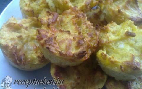 Sajtos krumpli recept fotóval