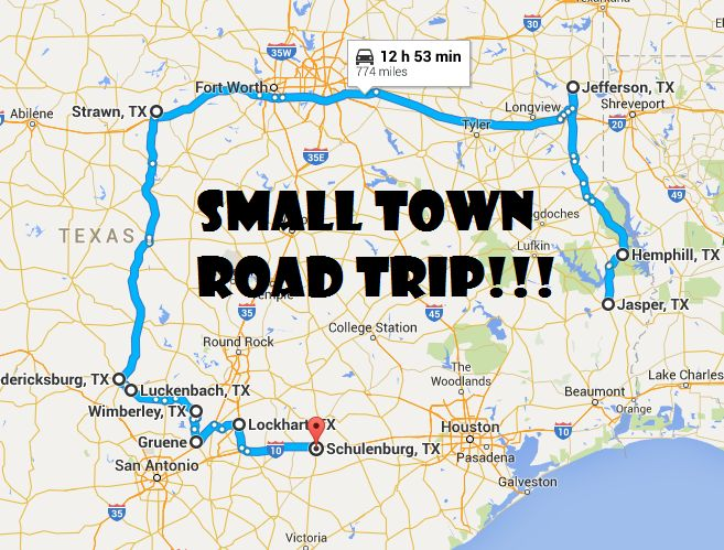Take This Road Trip Through Texas' Most Picturesque Small Towns For An…