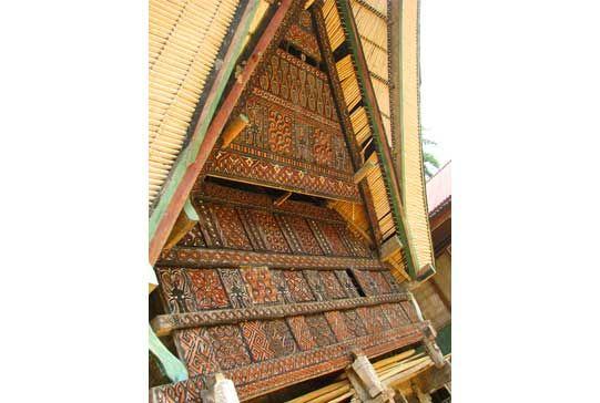 Ornament Detailh, Toraja House - South Sulawesi, Indonesia