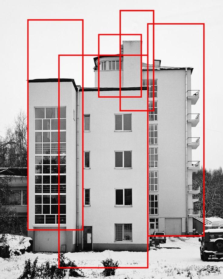 Alexey Bogolepov. Le travail du photographe russe entre photographie, graphisme, géométrie et architecture.