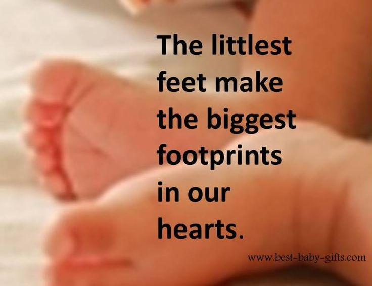 Love this quote <3 The littlest feet make the biggest footprints in our hearts. Read this and many more inspirational newborn quotes here. @allissamartin