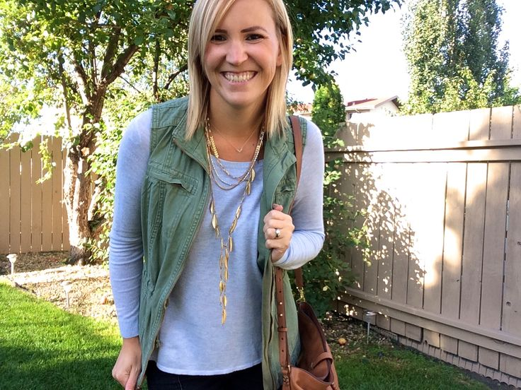 This statement necklace is beautiful! The garland fringe necklace from Stella & Dot