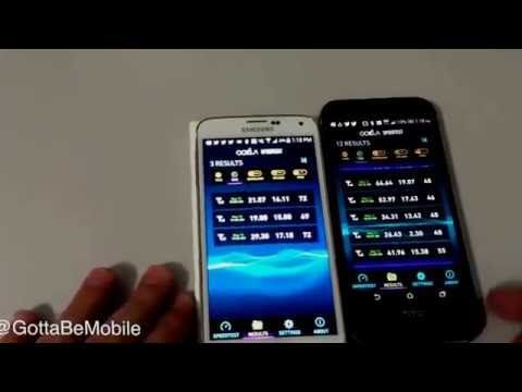 Verizon XLTE Speedtest vs AT&T 4G LTE