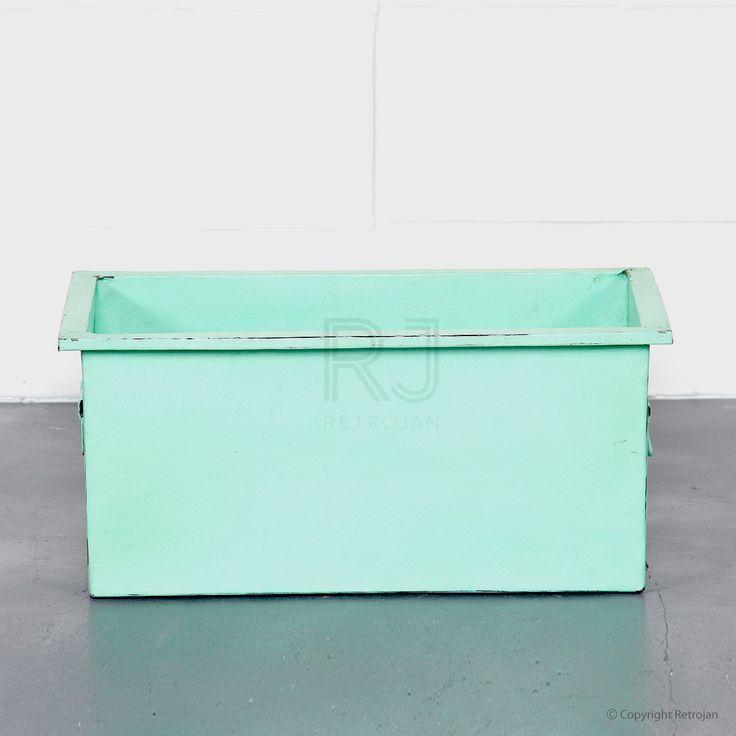 Cooper Storage Box - Mint Green | $39.00