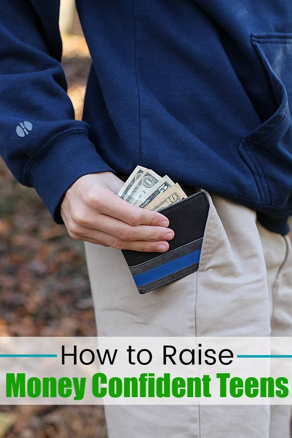 As a mom, it's important to me that my teen knows how to manage his money. Find out how I'm accomplishing this goal with help from the Money Confident Kids® high school magazine! #ad