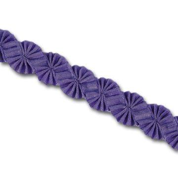 ribbon trim flower, tutorial - Recherche Google