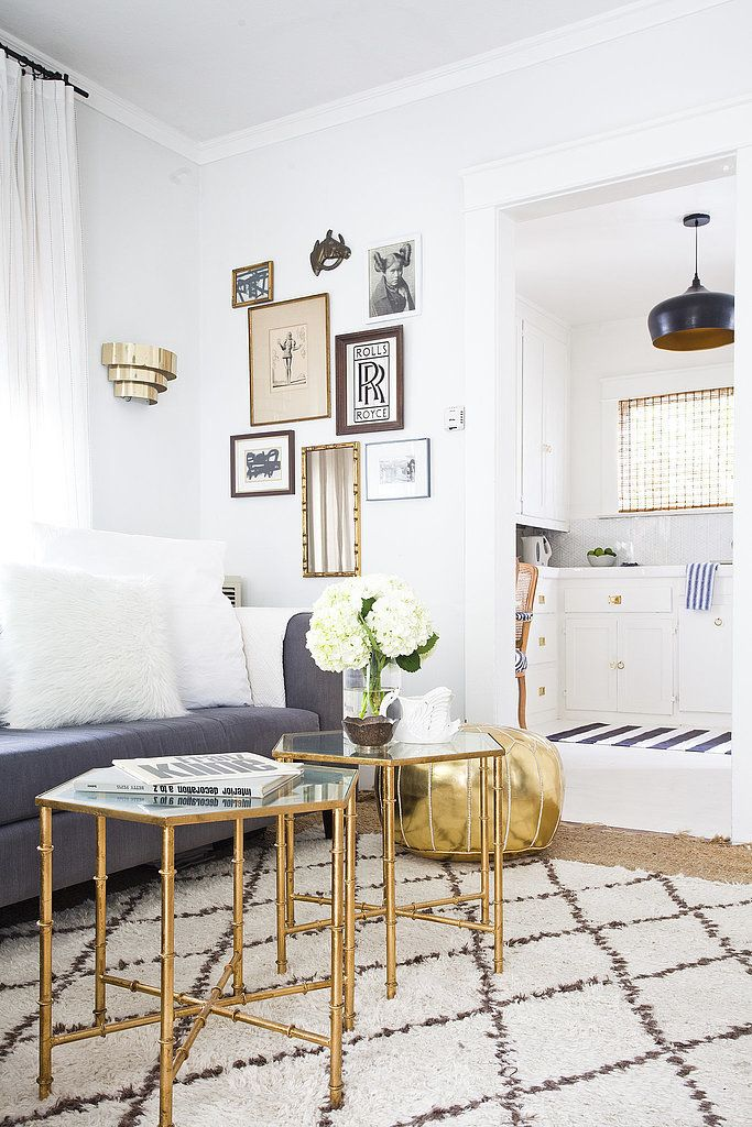 Home trends january 2016 designing with metallics for Living room 50 off january