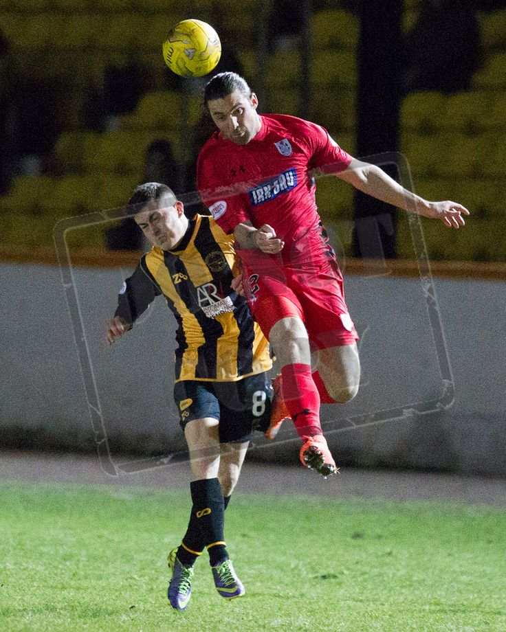 Queen's Park's Chris Duggan heads the ball during the SPFL League Two game between Berwick Rangers and Queen's Park