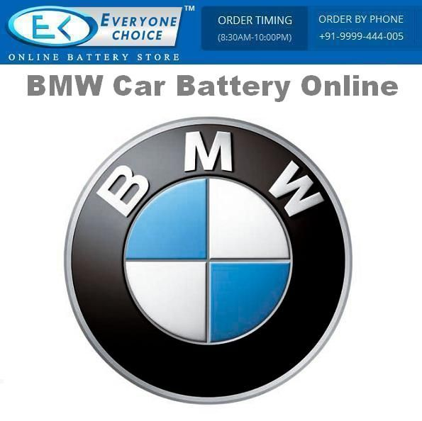 Everyone Choice is one of the best Car Battery dealer in Delhi, which offers you to buy BMW Car Battery Online in Delhi NCR at the best price with free installation and delivery.