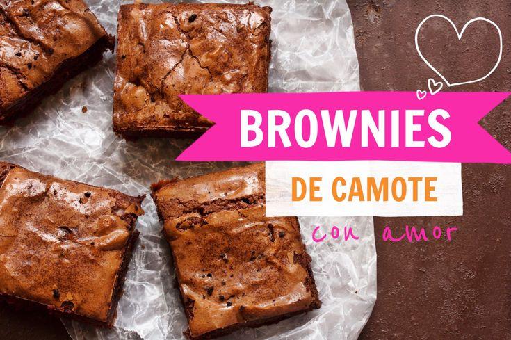 Brownies de camote con amor — Regina Marco
