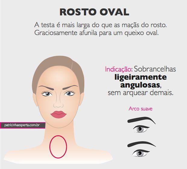sobrancelhas design para rosto redondo - Pesquisa Google