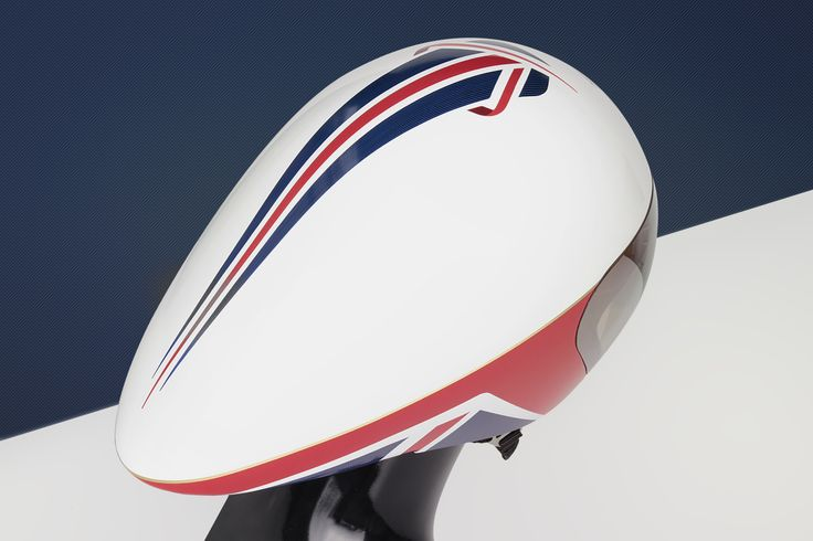 Team GB Olympic and Paralympic cycling helmet for Rio 2016. From Crux Product Design.